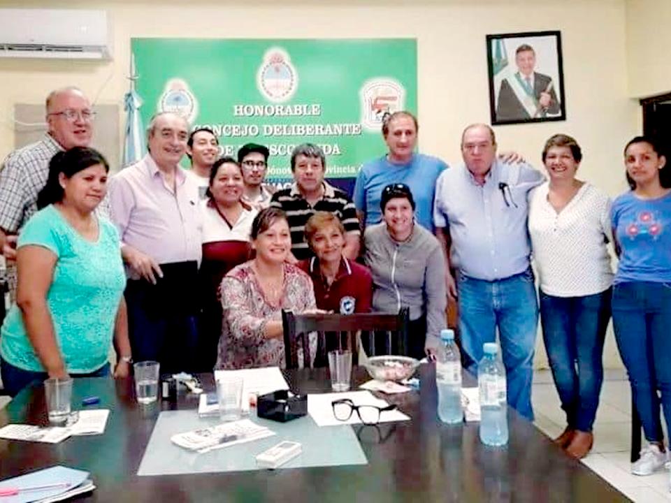 LA ESCONDIDA   FIRMA DE CONVENIO EDUCATIVO 2019