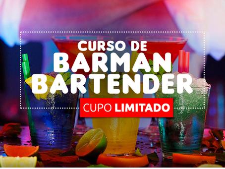 CURSO DE BARMAN – BARTENDER.