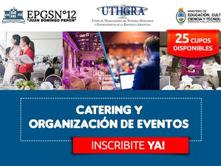 CURSO DE CATERING Y ORGANIZACIÓN DE EVENTOS