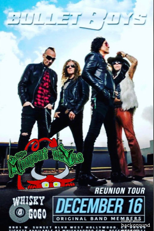 The Original Bulletboys w/ The Midnight Devils at The Whiskey a Go-Go