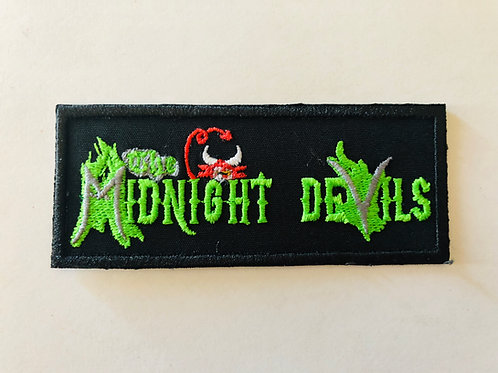 Midnight Devils Embroidered Patch