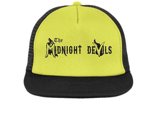 Neon Yellow Mesh Snapback Trucker Hat