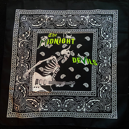 The Midnight Devils - Skeleton Bandanna