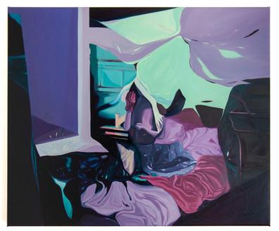 Untitled, 50 x 60 cm, oil on linen, 2021