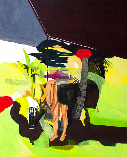 Until Death Do Us Part (part one), 50 x 40, oil on canvas, 2017