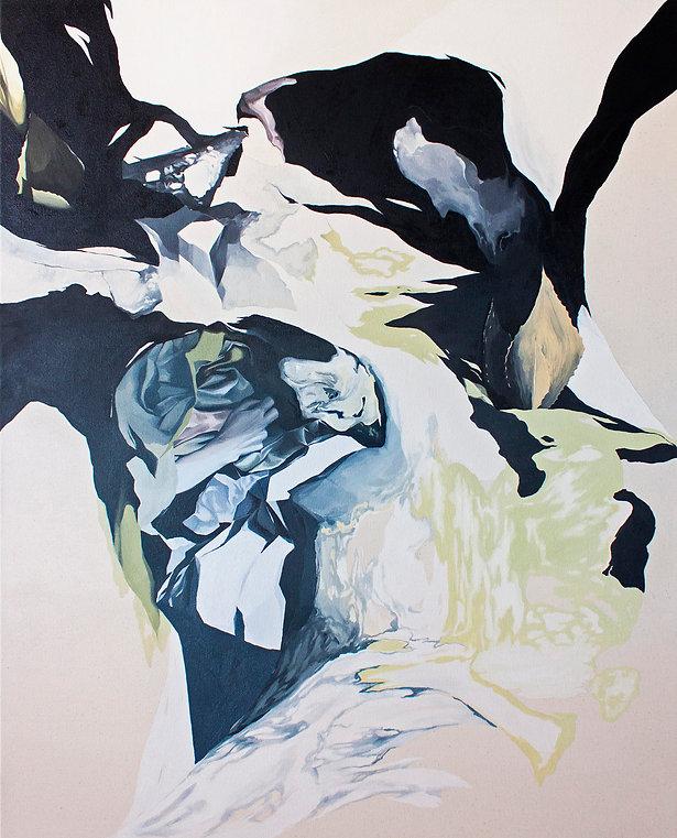 Contemporary art, oil on canvas, emerging artist, london art scene, woman artist