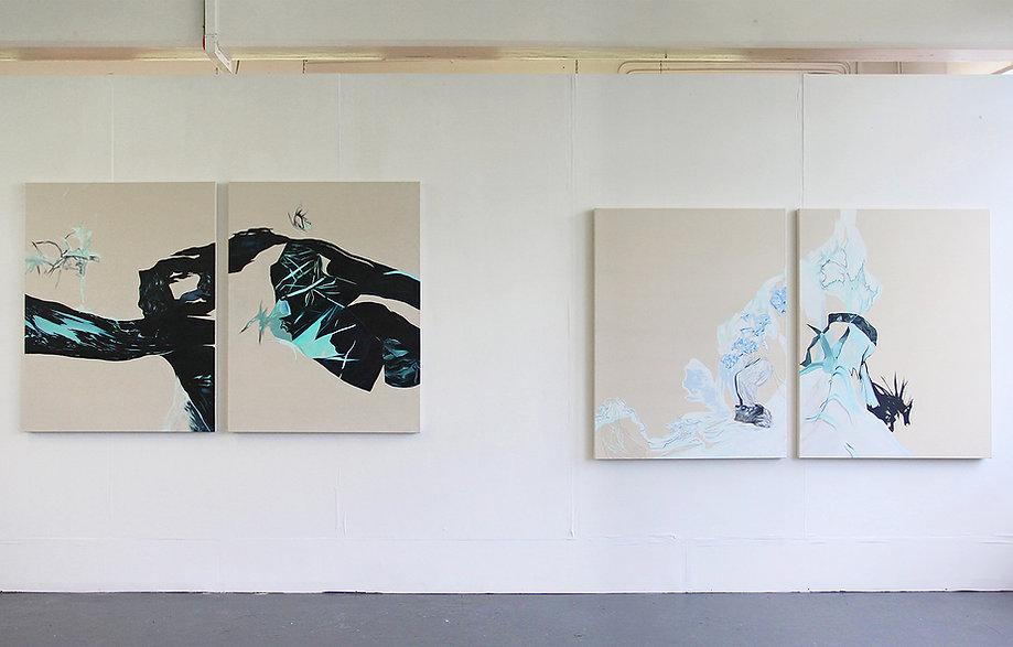 Art degree show, fine art, london exhibition, emerging artist, woman artist