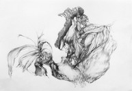 Untitled, 29.7 x 21 cm, graphite on paper, 2020