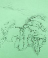Untitled, 25.6 x 21 cm, graphite o n paper, 2020
