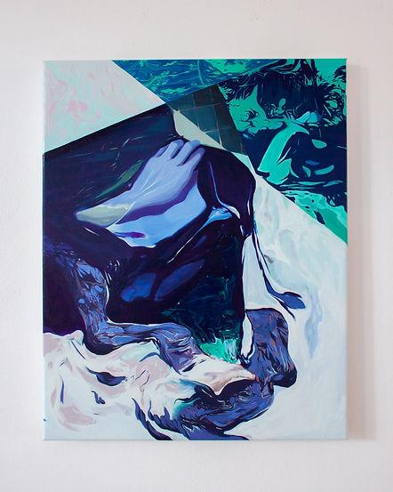 Oil on canvas, contemporary art
