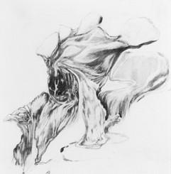 Untitled, 18 x 18 cm, graphite on paper, 2020