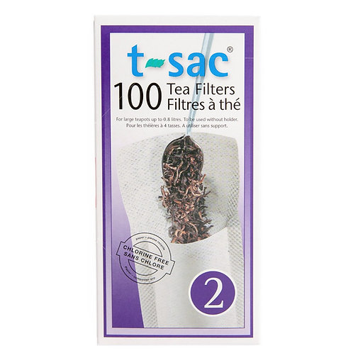 T-Sac Tea Filters - Size 2