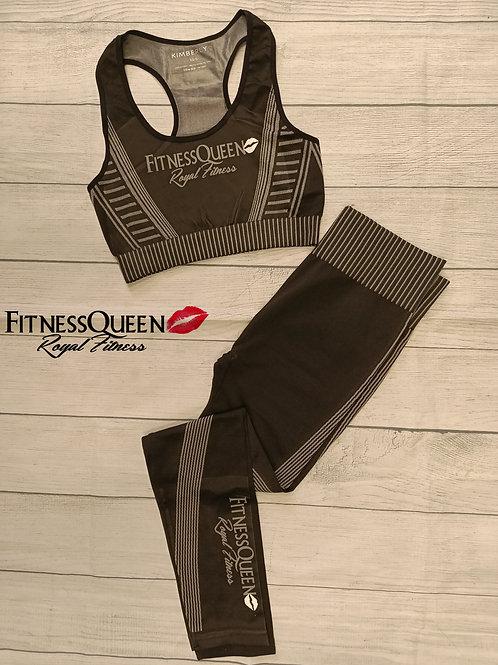 Black FitnessQueen Set