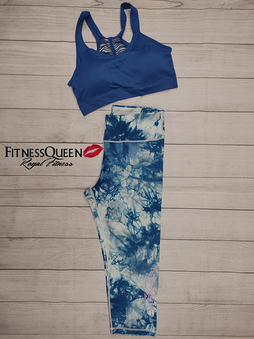 So Blue Tie Dye Set