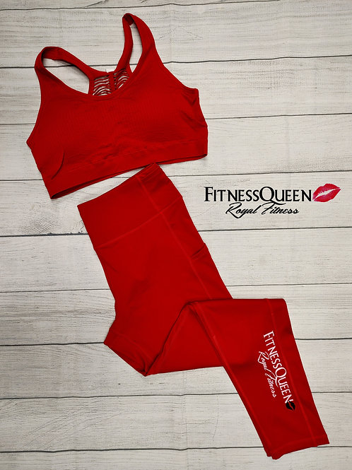 Royal Red FitnessQueen set