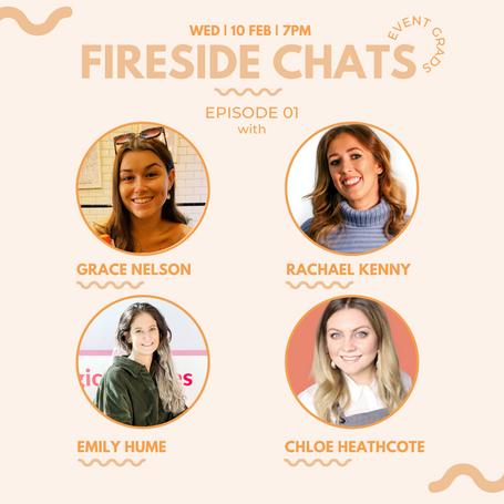 Event Grads: Epsiode 1 - Fireside Chats