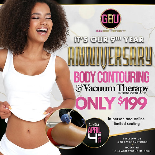 REFRESHER COURSE BODY CONTOURING & VACUUM THEARPY