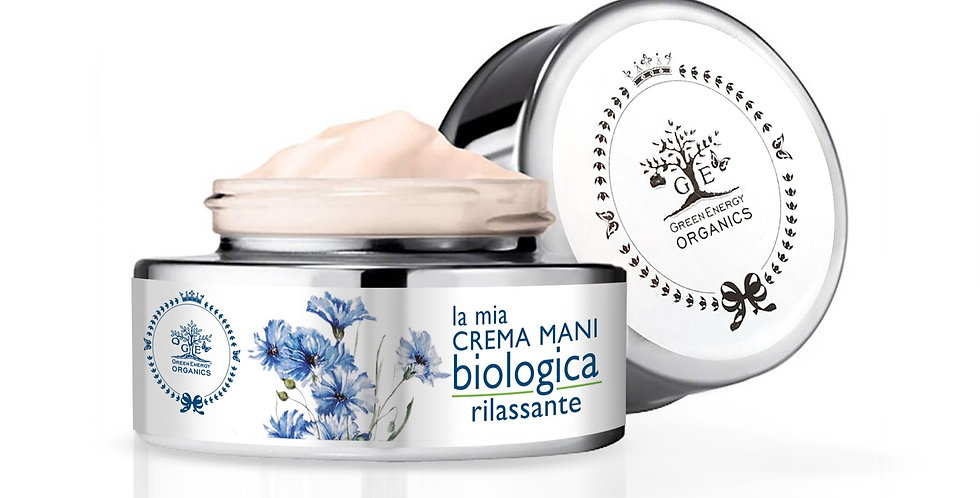 LA MIA CREMA MANI BIOLOGICA RILASSANTE 40ML