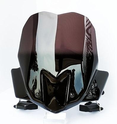 CLIPABLE WINDSHIELD BLACK - Bulle Pare-Brise Noir Clipable
