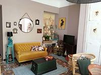 Le salon de La Maison Hilarion espace TV espace jeux