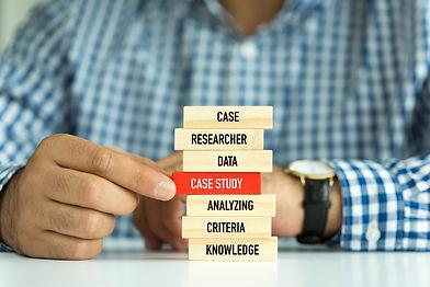 Businessman Building CASE STUDY Concept