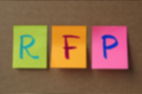 RFP (Request For Proposal) acronym on co