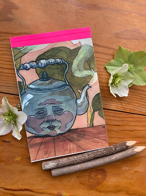 "NOTEPAD - The Kettle - 5.5""x8.5"" - 30 pgs. deluxe mouse paper"