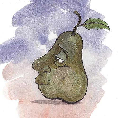 8x10 PRINT - The Pear