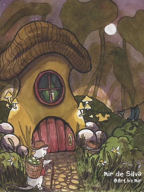 8x10 PRINT - The Fungi