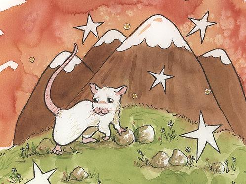 8x10 PRINT - Mouse Mountain