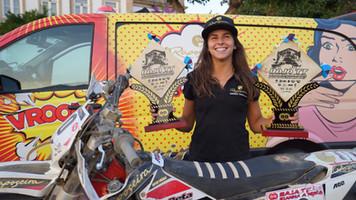 Rita Vieira é vice campeã do Mundo de Bajas!!!