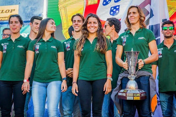 Rita Vieira representa a seleção Portuguesa no Chile