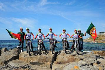 Team Portugal no Top 10 no Trial das Nações