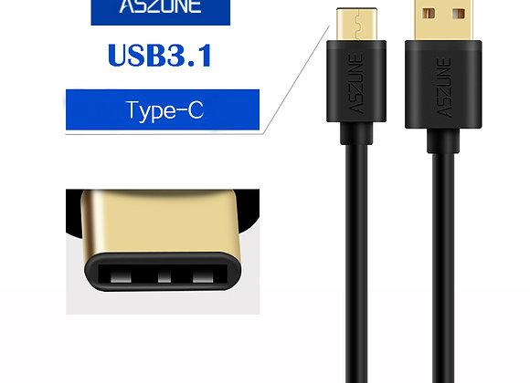USB3.1 TYPE C כבל טעינה וסינכרון