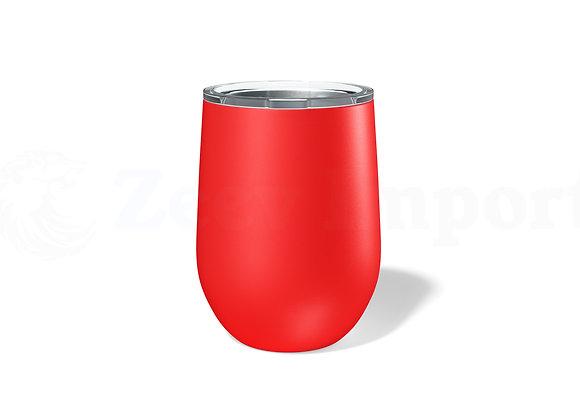 כוס תרמית ממותגת בצבע אדום