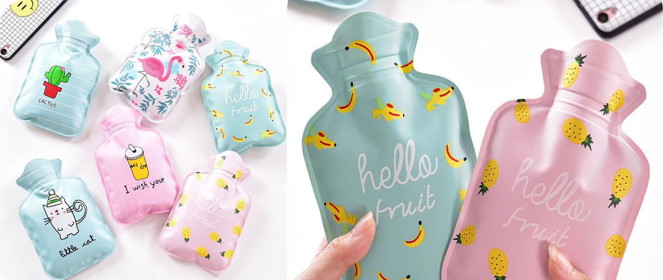 בקבוק מים חמים במגוון עיצובים