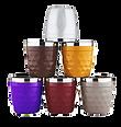 כוסות אספרסו צבעוניות
