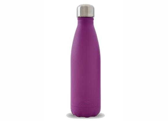"""בקבוק נירוסטה מעוצב סגול חלק 500 מ""""ל"""