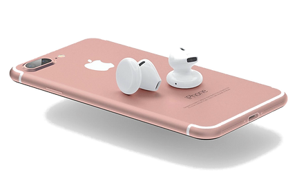 apple iphone 7 plus rose gold with the new  apple airpods 26mobile wholesale mobile phone