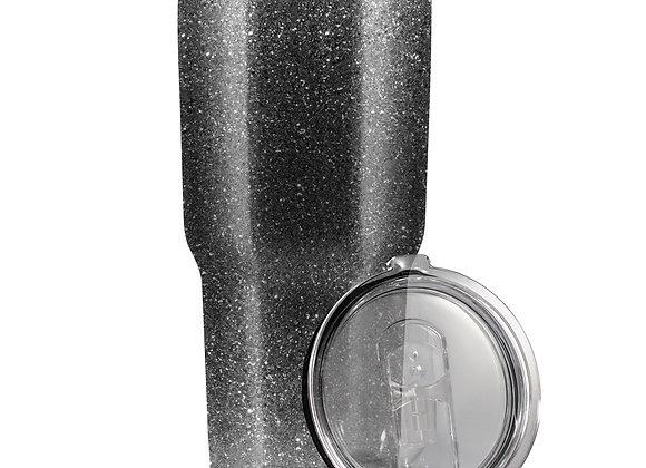 Glitter Gray Black כוס תרמית מעוצבת