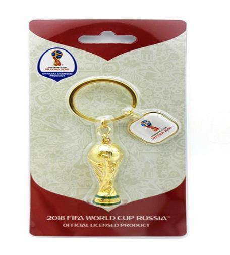 מחזיק מפתחות בצורת גביע העולם, מוצרי פרסום למונדיאל רוסיה 2018