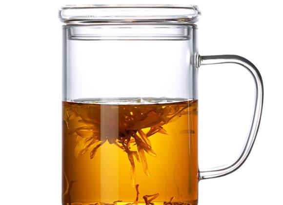 MIA כוס זכוכית בעלת דופן כפולה