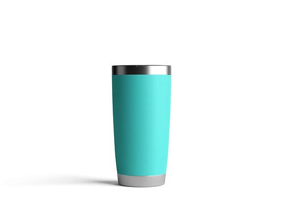 כוס תרמית בצבע טורקיז