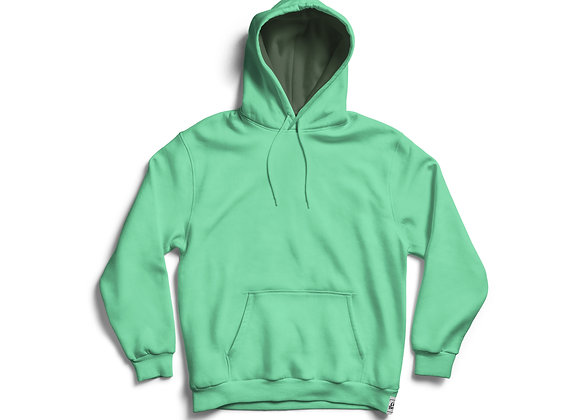 קפוצ'ון ממותג בצבע ירוק