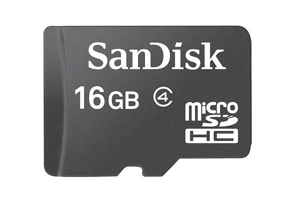 SANDISK 16GB Class 4 כרטיס זיכרון סאנדיסק