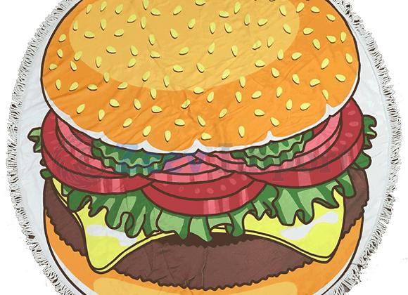 לונג עגול ענקי   לונג עגול גדול בצורת המבורגר