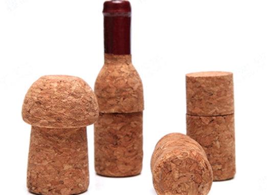 דיסק און קי צורני בצורת שעם בקבוק יין