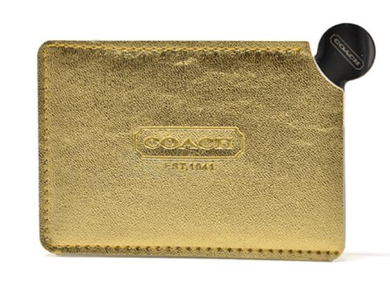 CREDIT מראת בצורת כרטיס אשראי