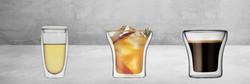 כוס זכוכית בעלת דופן כפולה
