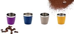 כוסות אספרסו מעוצבות